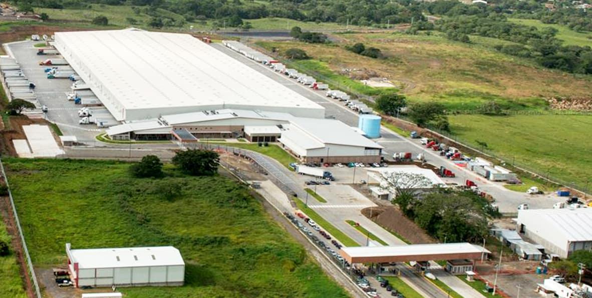 Centro de distribución Walmart Costa Rica